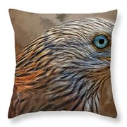 Red Kite - Featured In The Groups - Spectacular Artworks And Wildlife Throw Pillow
