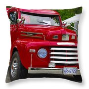 Red Mercury Throw Pillow