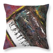 Red Piano Series 7 Throw Pillow