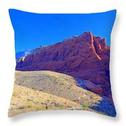 Red Rock Canyon 4 Throw Pillow
