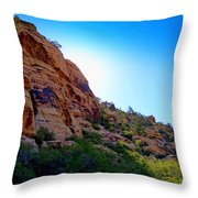 Red Rock Canyon 59 Throw Pillow