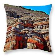 Red Rock Canyon California Throw Pillow