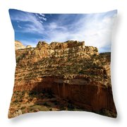 Red Rock Canyons Throw Pillow