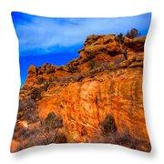 Red Rocks Park Colorado IIi Throw Pillow