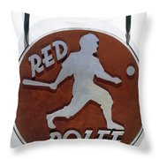 Red Rolfe (1908-1969) Throw Pillow