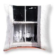 Red Sill Throw Pillow