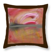 Red Tide  Throw Pillow