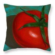 Red Tomato Throw Pillow
