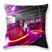 Red Waltz Throw Pillow