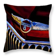 Red Wings Throw Pillow