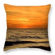 Redington Beach Sunset Throw Pillow