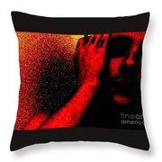 Redlight Throw Pillow