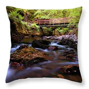 Reelig Grotto  Throw Pillow