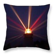 Reflected In The Fog Throw Pillow