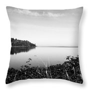 Reflected Perfectly Calm Throw Pillow
