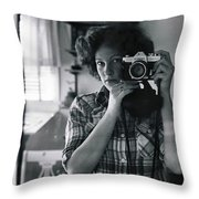 Reflecting Back Throw Pillow