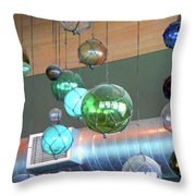Reflecting History Throw Pillow