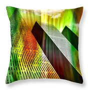 Reflecting On A Day Gone By Throw Pillow