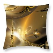 Reflecting On Tales Of Reflections Of Tales Throw Pillow