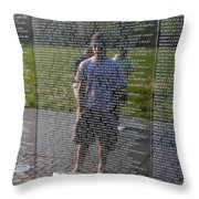 Reflection And Remembrance Throw Pillow