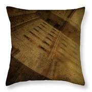 Reflection At Fort Delaware Throw Pillow