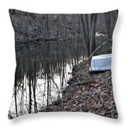 Reflection Creek  Throw Pillow