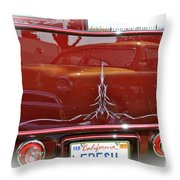 Reflection In Candy Throw Pillow