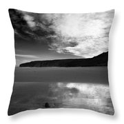 Reflection Of Sky Throw Pillow