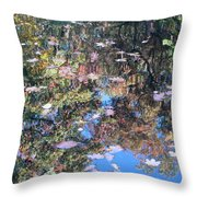 Reflections In Paradise 3 Throw Pillow