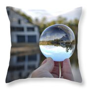 Reflections Of A Beautiful Day Throw Pillow