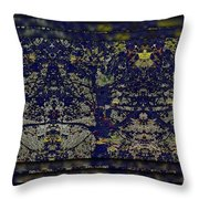 Reflections Of An Arboretum Throw Pillow