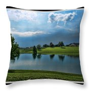 Reflections Of Home Throw Pillow