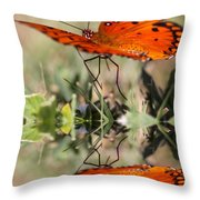 Reflections Of The Gulf Throw Pillow