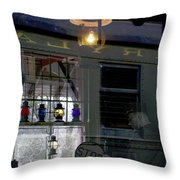 Reflections Of The Past Throw Pillow by L Granville Laird