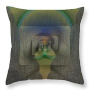 Reflections Of The Soul Throw Pillow