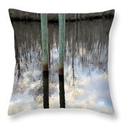 Reflections Of Us Throw Pillow
