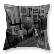 Reflections On The World Throw Pillow