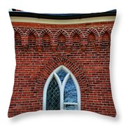 Reflections Over Time Throw Pillow