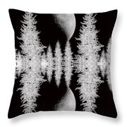 Reflective Shadows Throw Pillow