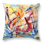 Refracted Dream Throw Pillow