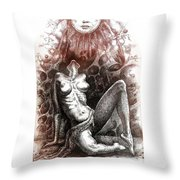 Regeneration-iii Throw Pillow