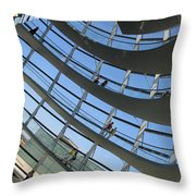 Reichstag Dome Throw Pillow