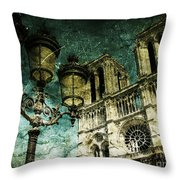 Reinvented History Throw Pillow