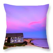 Relaxing Peaceful Ocean Air Throw Pillow