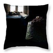 Relics - Celtic Church Throw Pillow