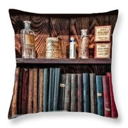 Remedies And Visiting List Throw Pillow
