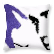 remembering Elvis Throw Pillow