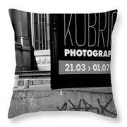 Remembering Kubrick Throw Pillow