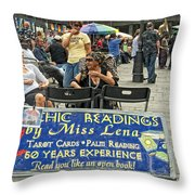 Remembering Miss Lena Throw Pillow