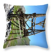 Reminder Of The Past Throw Pillow